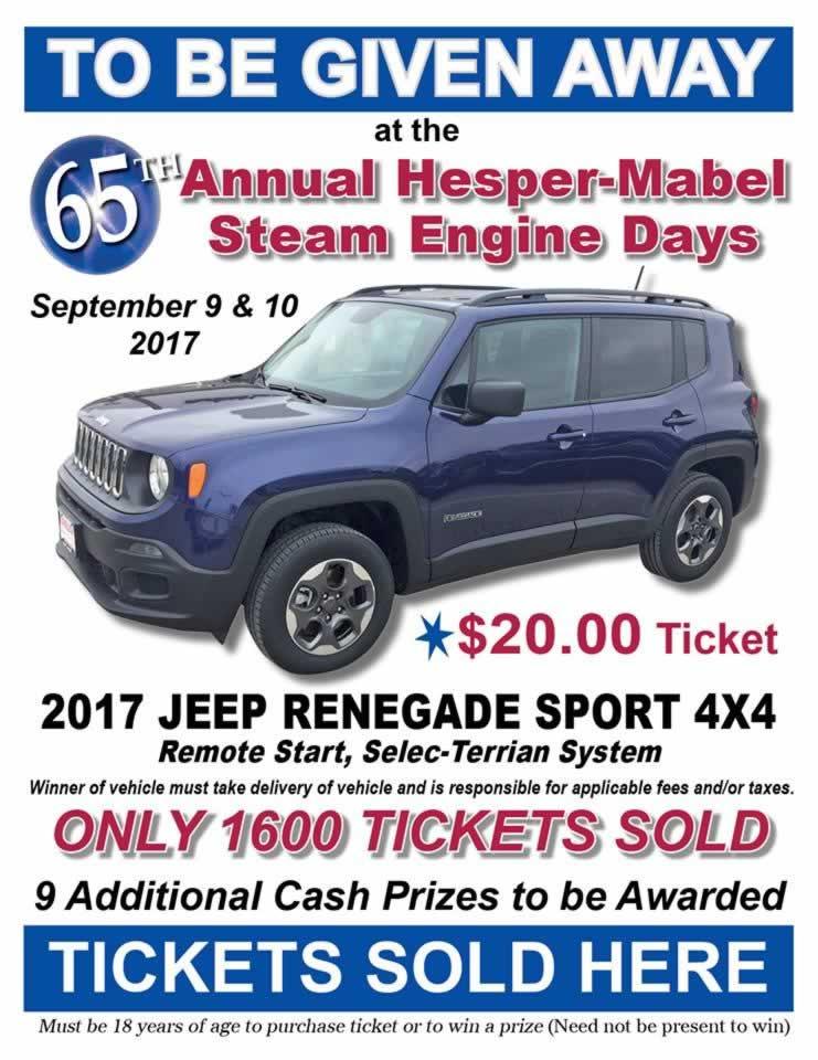 Hesper-Mabel Steam Engine Days - Mabel, Minnesota