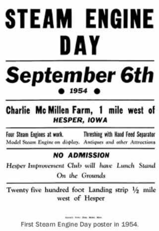 Hesper-Mabel Steam Engine Days - Mabel, Minnesota - Oldest Steam Engine Show in Minnesota - Parade