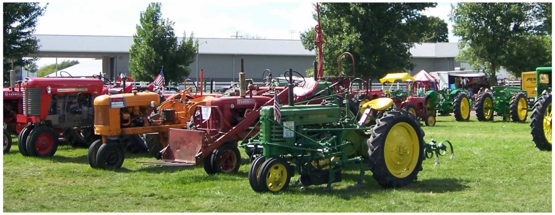 Hesper-Mabel Steam Engine Days 2017 - Mabel, Minnesota - Toot & Whistle Club Drawing to win a Tractor!