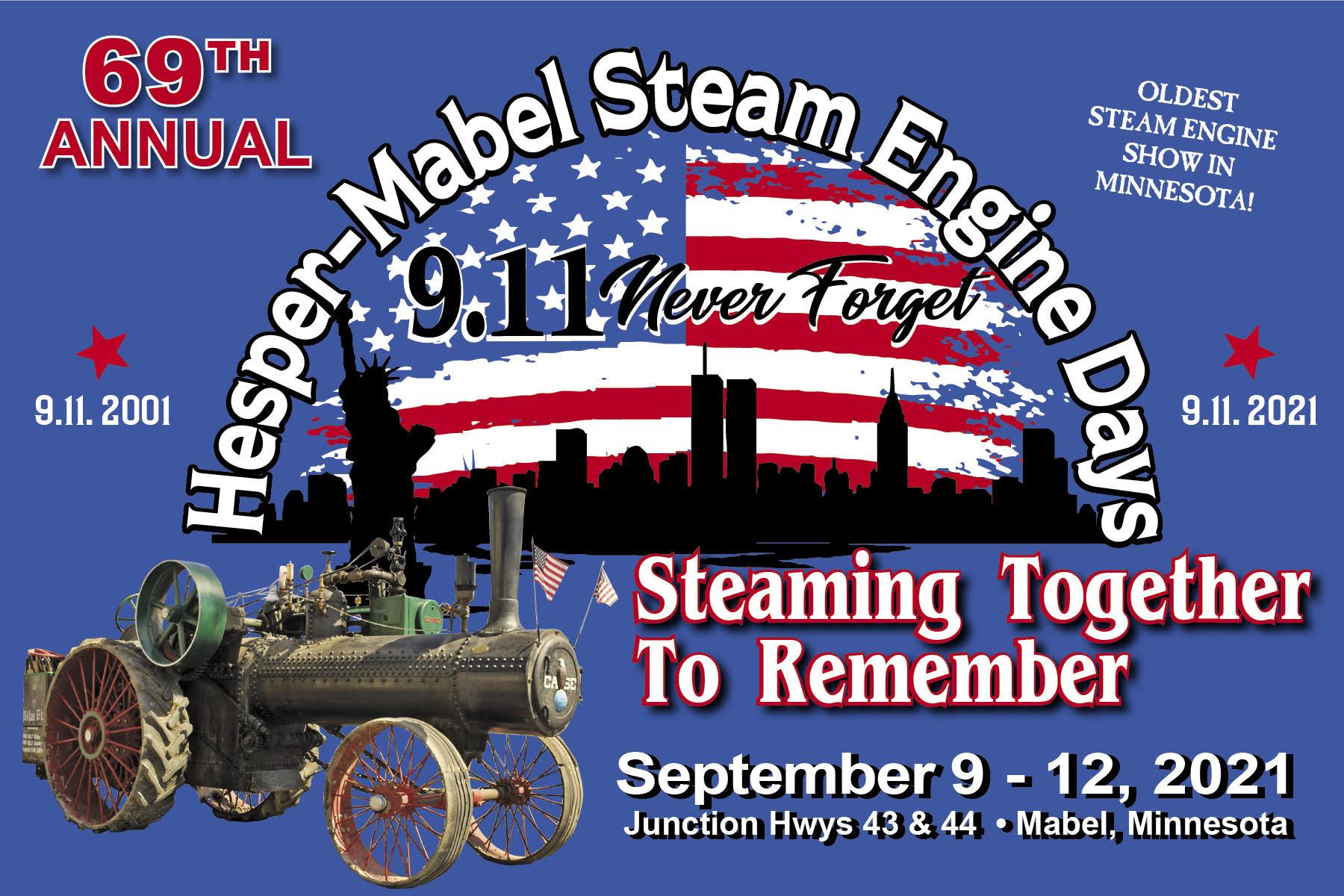 Steam Engine Days September 2021